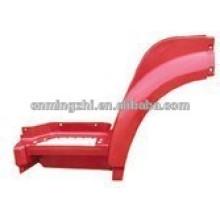 Howo FRENTE FENDER WG1642230102 / WG1642 230106 W / PAINT peças de automóvel chinês
