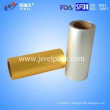 Feuillet en aluminium imprimé / non imprimé avec alliage Lacuqer 8011