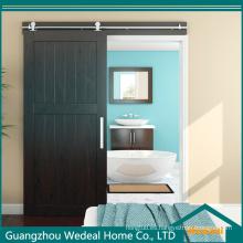 Puerta de granero clásica de madera maciza de alta calidad