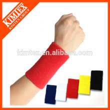 Sport cotton supporter wristband