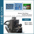 Battery pole welding machine