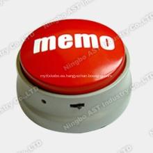Caja de compresión, botón fácil, módulo de grabación de voz, módulo de grabación de sonido