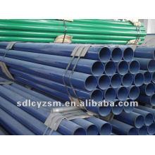 Tubo de acero recubierto de PVC / PVC / PE / recubierto de epoxi