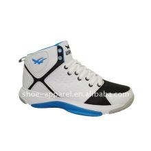 Nuevo diseño personalizado zapato hombres botas de baloncesto