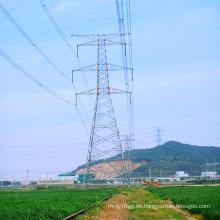 220kv Doubule Circuitstangent Torre de Transmisión de Potencia