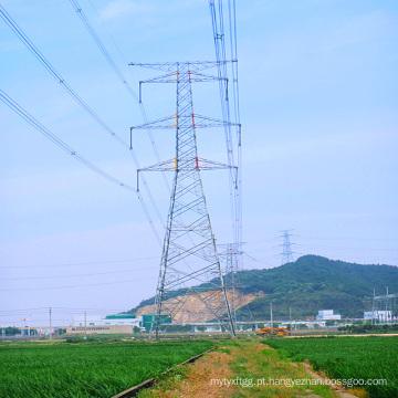 220kv Doubule Circuitstangent Torre de Transmissão de Energia