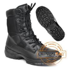 Militärische Boot Vollnarben-Kuh Leder Armee Stiefel Desert-Boots Dschungel Armeestiefel ISO