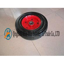 Ruedas de caucho plano sin carga de alta capacidad de 16 pulgadas fabricadas en Qingdao