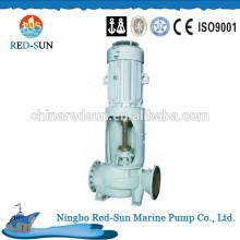 Marine automatic self-priming bilge pump