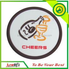 PVC Cup Coaster/Soft PVC Coaster (JN-S07)