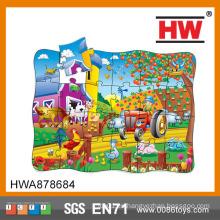 Kids Learn Ranch Puzzle Cartón para rompecabezas
