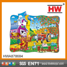 Kids Learn Ranch Puzzle Cardboard for Jigsaw Puzzle