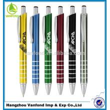 caneta fabricação venda quente mini plástico pena curta caneta
