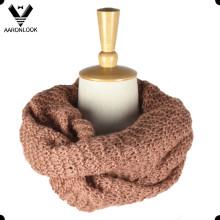 Теплый удобный мягкий трикотажный шарф для продажи