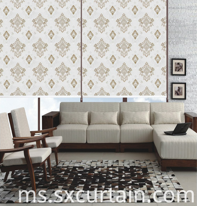 Roller Curtain Blind Shade Jacquard