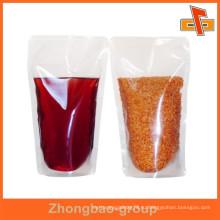 Влагостойкий пищевой асептический прозрачный пластиковый пакет для воды