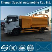 Caminhão de Flushing de drenagem do DFAC 8000L Dongfeng Tianjin