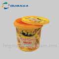 cookie container plastic buckets with handle
