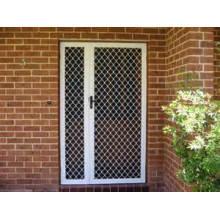 Portes de grille de sécurité de qualité résidentielle