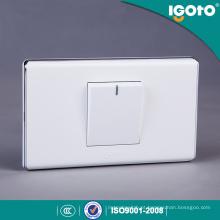 American Standard 1 Gang 1 Way Electrical Push Button Wall Switch