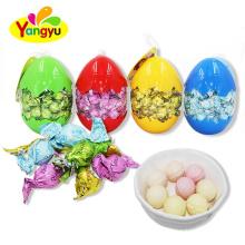 Egg Bottle Sweet Fruity Milky Tablet Candy Ball