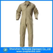 Roupas de trabalho de segurança 100% algodão macacões ternos de trabalho industrial