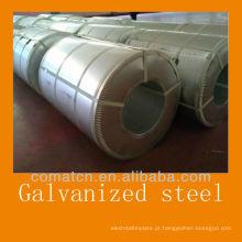 Aço galvanizado a quente (GI: aço revestido de zinco) da China