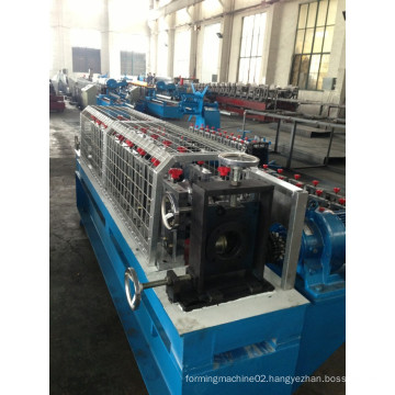 Ce SGS Certificated Roof Batten Cold Roll Forming Machine with PLC Panasonic