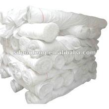 Tejido gris 100% tejido de algodón