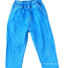Укороченные джинсы использовали одежду тюки