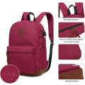 Школы путешествий рюкзак сумка с USB зарядное устройство