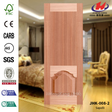 FSC ราคาถูก HDF Natural Sapele Door Skin
