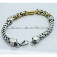 2013 complex mens stainless steel cheap chain bracelets