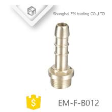 EM-F-B012 Male thread chromed brass pagoda head adapter pipe fitting