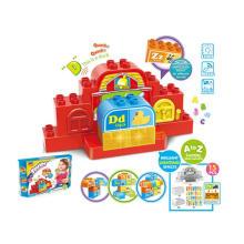 Kid aprendizaje de la mesa de bricolaje bloque de construcción de juguete educativo (h5931104)