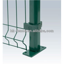 PVC coated or galvanized weled wire mesh with various sizes and diameters