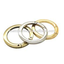 Anel redondo com anel da mola O para Keychain