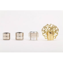 Alloy Lid Cap Metal Lid Glass Perfume Bottle