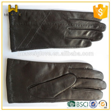 Men's gloves factory customize 100% genuine sheepskin Leather Hand gloves