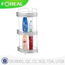 Moderne Badezimmer mit Dusche/Wandhalterung mit 3 Racks