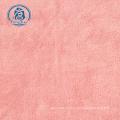 tecido de veludo tecido de lã 100% poliéster coral