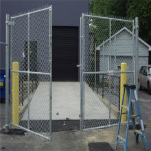 Heavy duty 9 Guage hot dip galvanized chain link fence