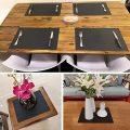 Silikon Tischsets Wasserdichte Backmatte