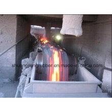 Excelente cinta transportadora resistente al calor de rendimiento de desgaste