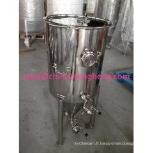 Fermenter de brassage de bière en acier inoxydable