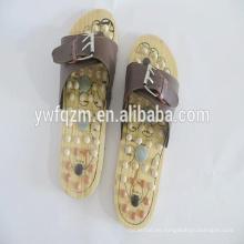 Zapatilla de masaje de pies de madera