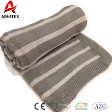 0-6 months 10 years experience 100% cotton knitted baby blanket