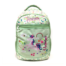 Wholesale Cute Unicorn Students Kids School Backpack Bag Set For Girls With Lunch Box Mochilas Escolares