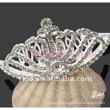 wedding rhinestone crown