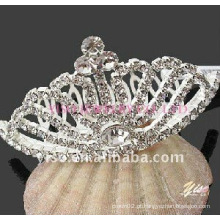 Coroa de diamante de casamento